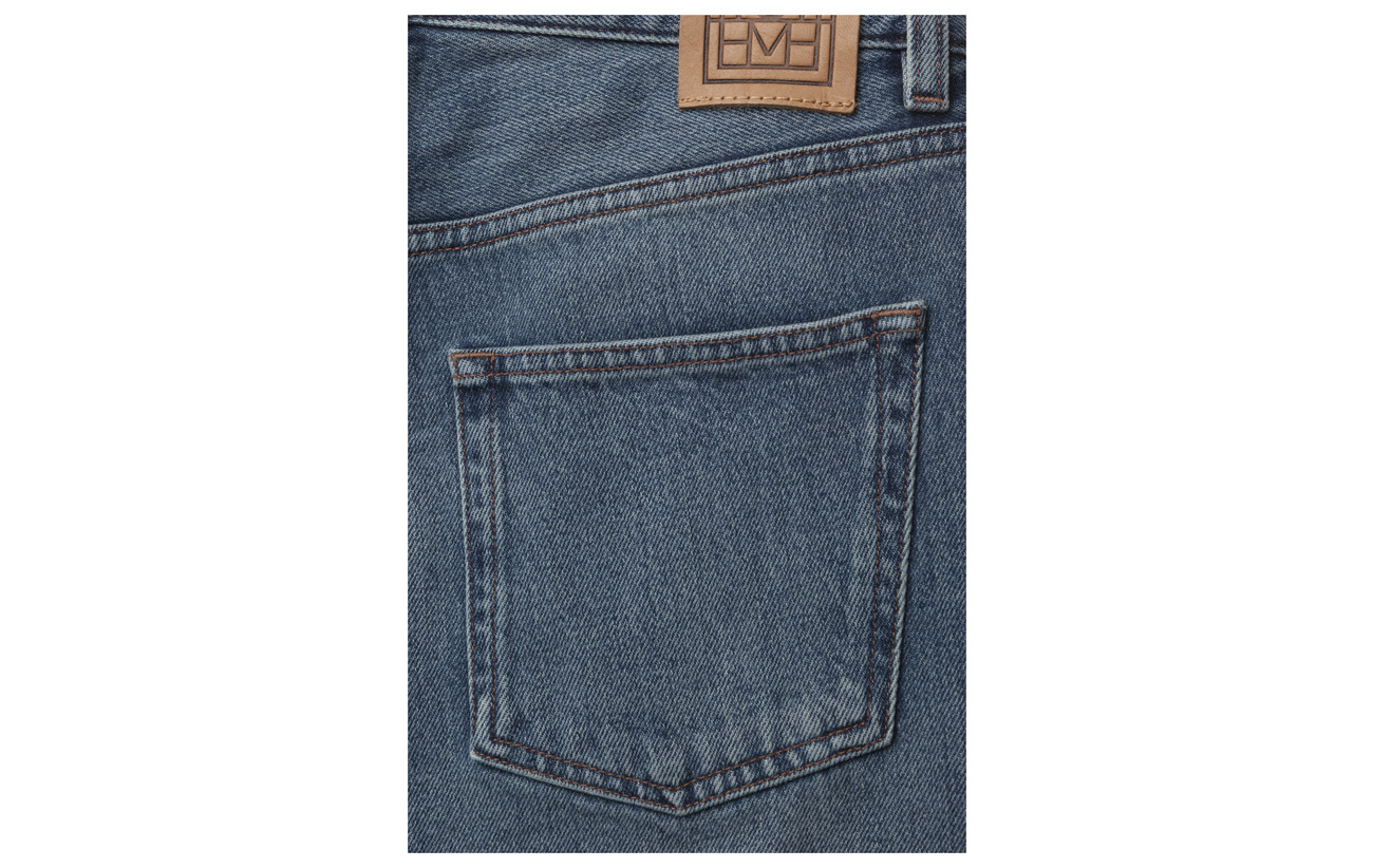 Bovine 100 Blue Totême Cuir Denim Coton Original Washed xYxgqw