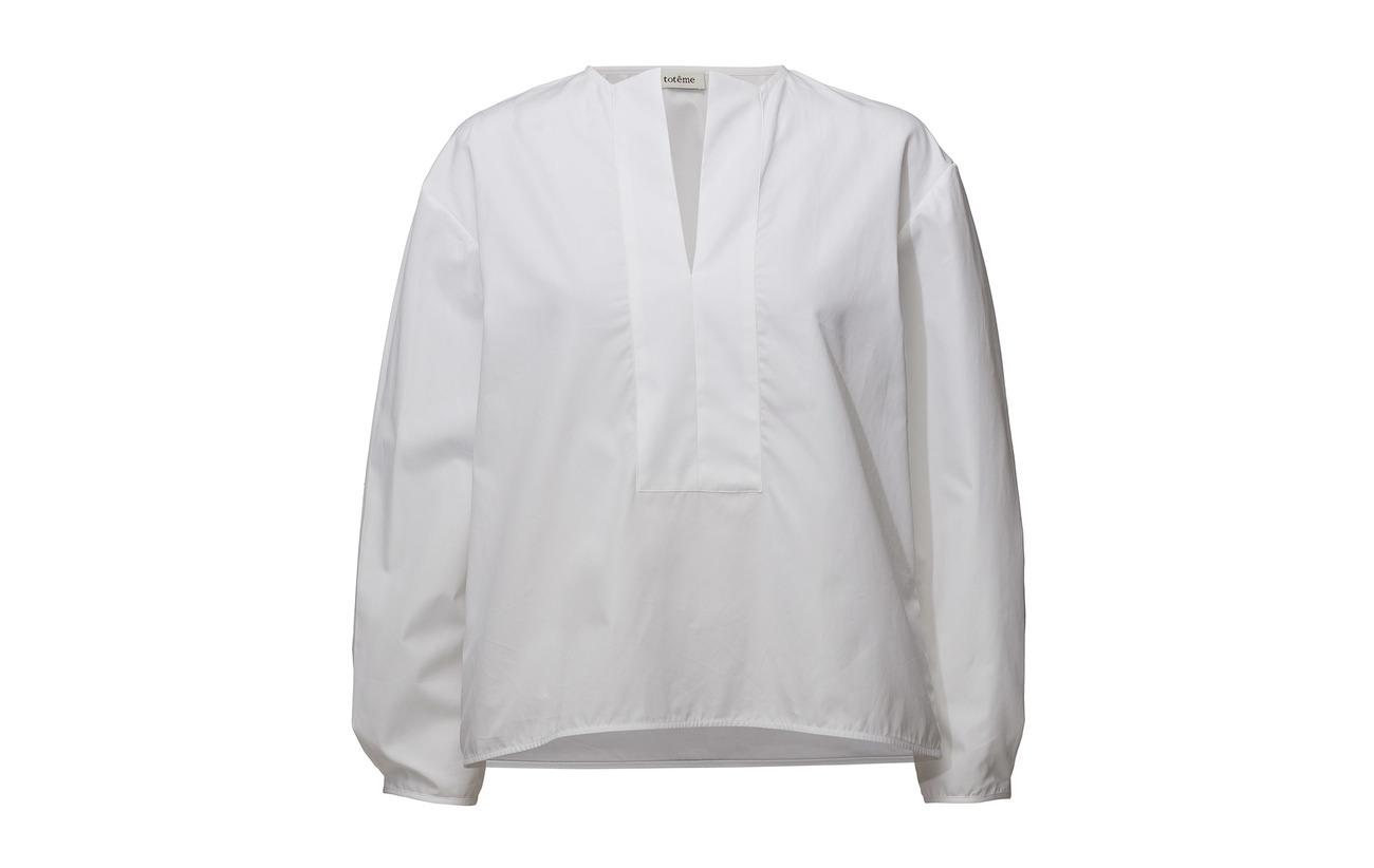 100 Totême Eivissa Totême White Totême White Coton 100 Coton Eivissa qqgPA8