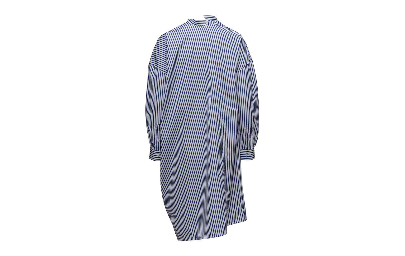 Noma Coton Dress Stripe Blue 100 Azure Totême x6U74wqvw