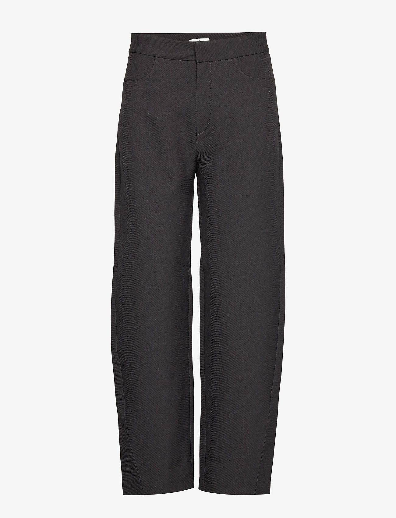 Totême - NOVARA - bukser med brede ben - black 200 - 0