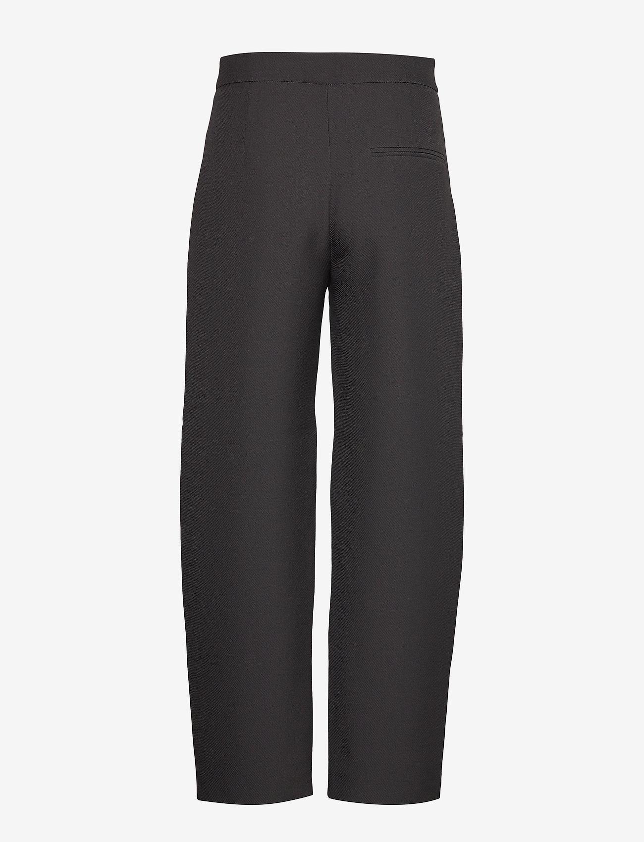 Totême - NOVARA - bukser med brede ben - black 200 - 1