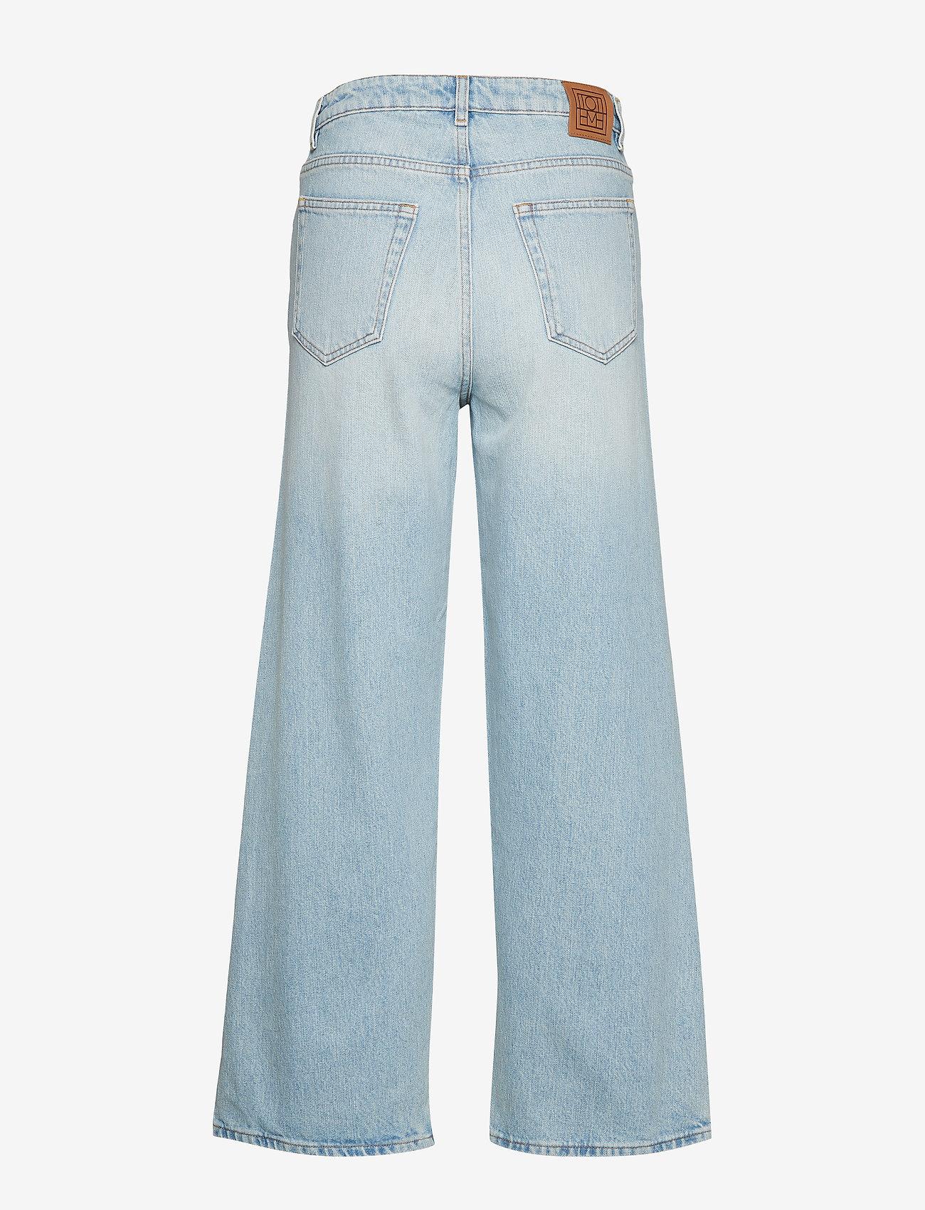 Totême - FLAIR DENIM 32 - broeken met wijde pijpen - light blue wash 425 - 1