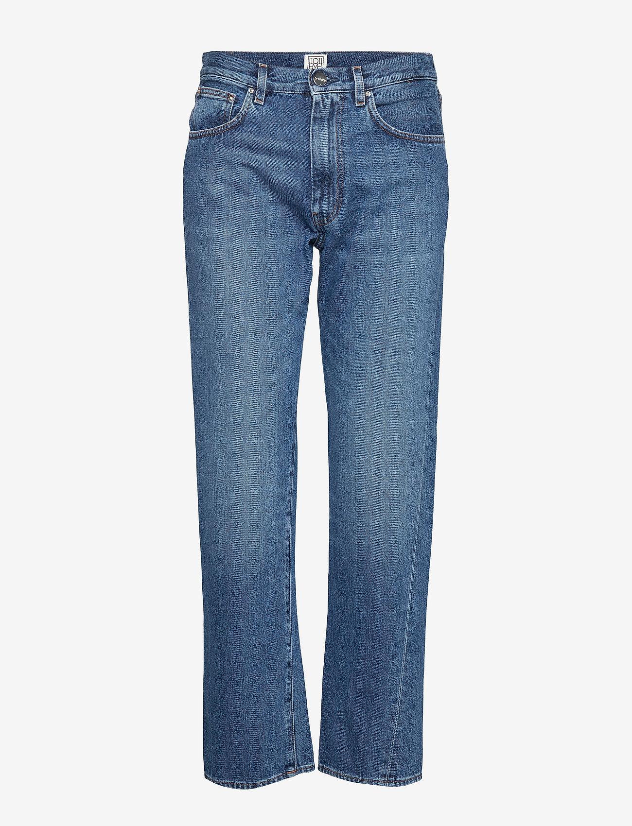Totême - ORIGINAL DENIM - straight jeans - washed blue 405 - 0