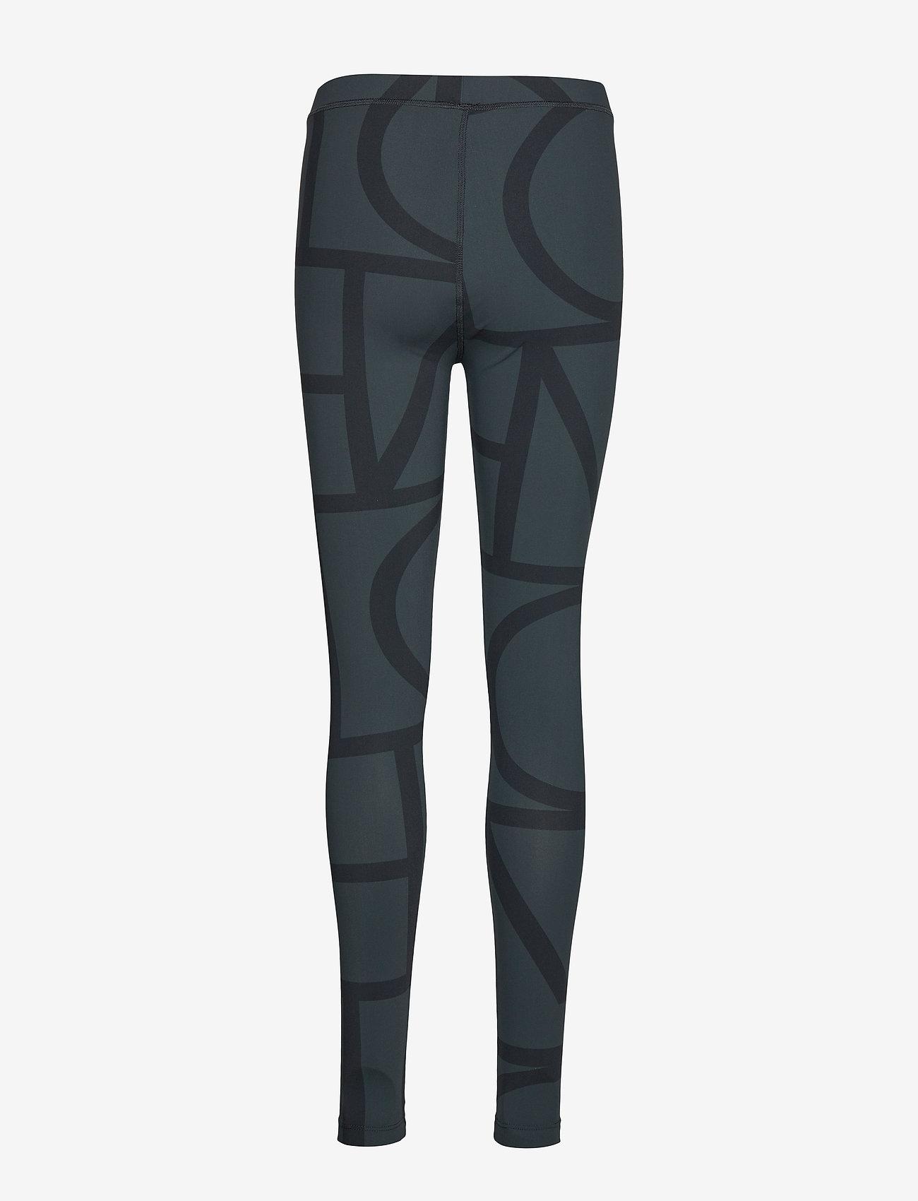 Totême - LEON - leggings - black monogram 255 - 1