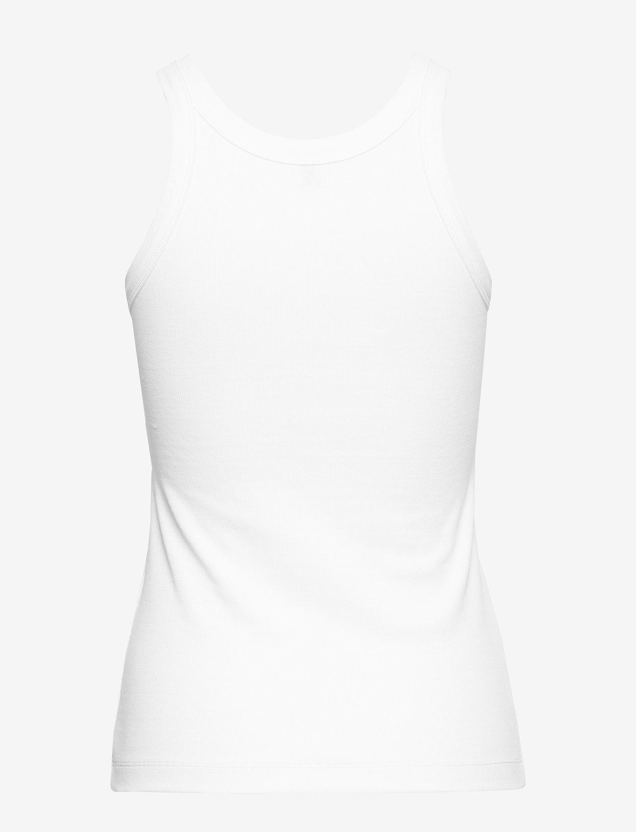 Totême - ESPERA RIB TANK - white 100 - 1