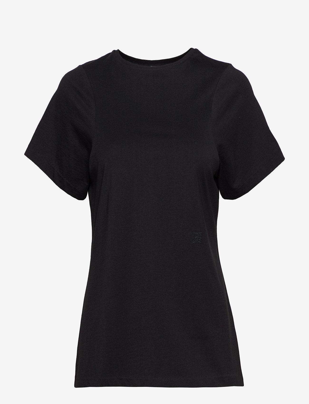 Totême - ESPERA - t-shirts - black 200 - 0