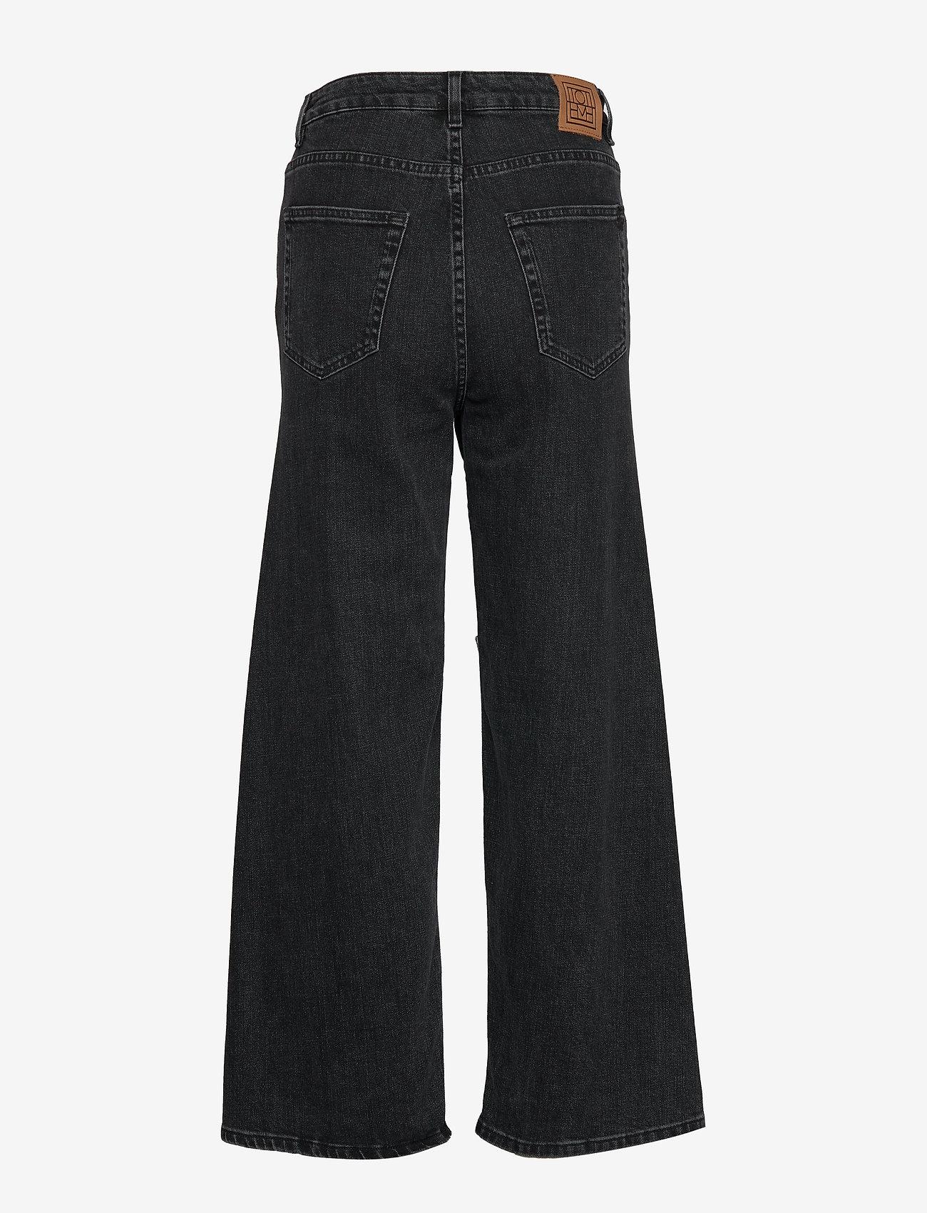 Totême - FLAIR DENIM - szerokie dżinsy - grey wash 300 - 1