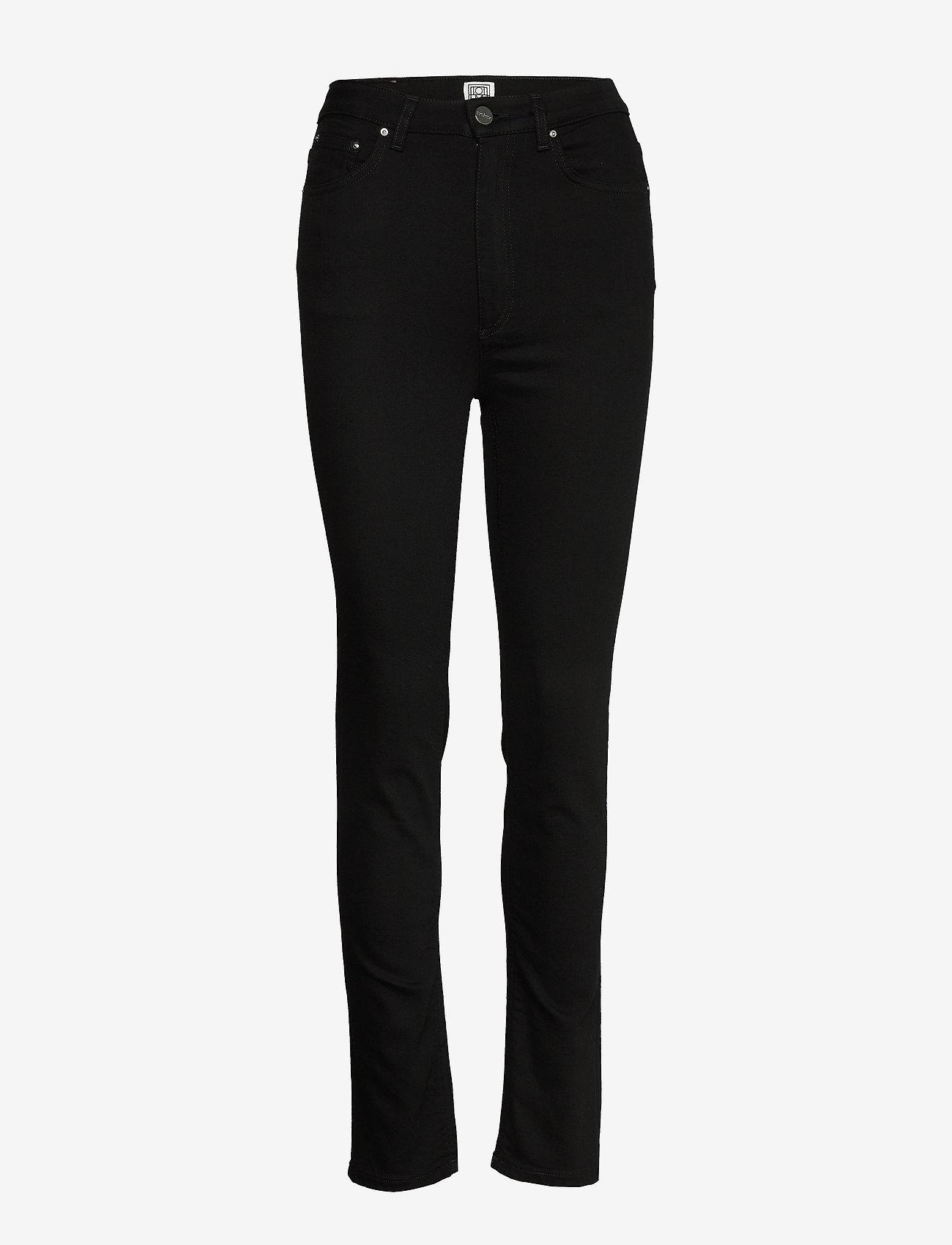 Totême - NEW STANDARD DENIM - skinny jeans - stay black 200 - 0