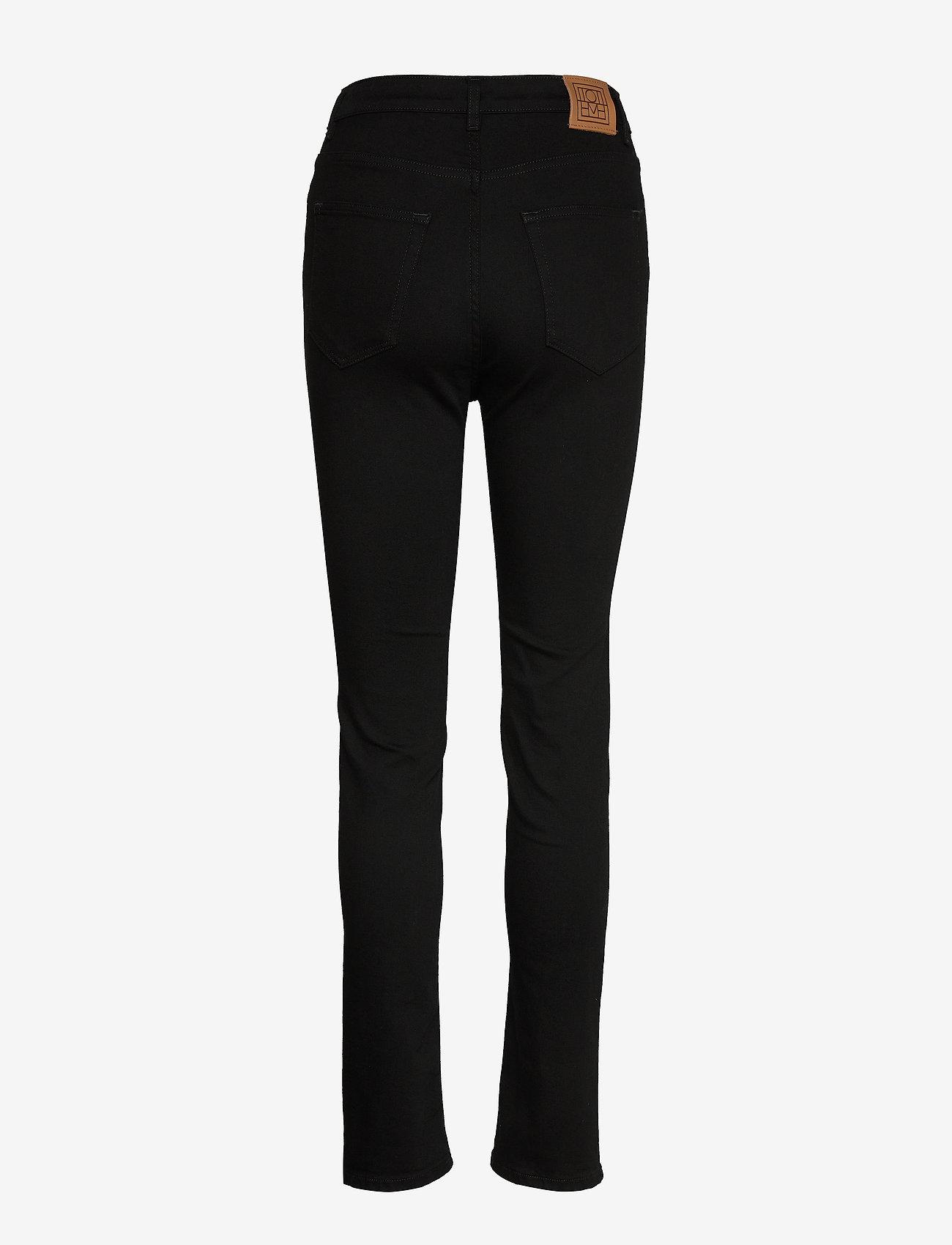 Totême - NEW STANDARD DENIM - skinny jeans - stay black 200 - 1