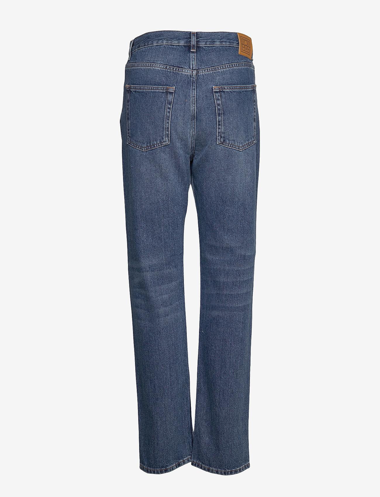 Totême - EASE DENIM - straight jeans - washed blue 405 - 1
