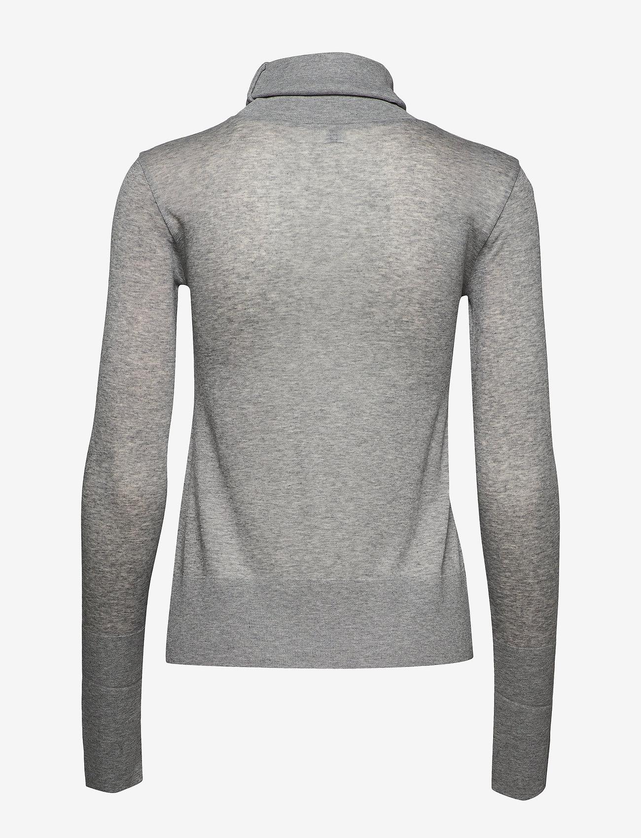Totême - MELA - turtlenecks - grey melange 350 - 1
