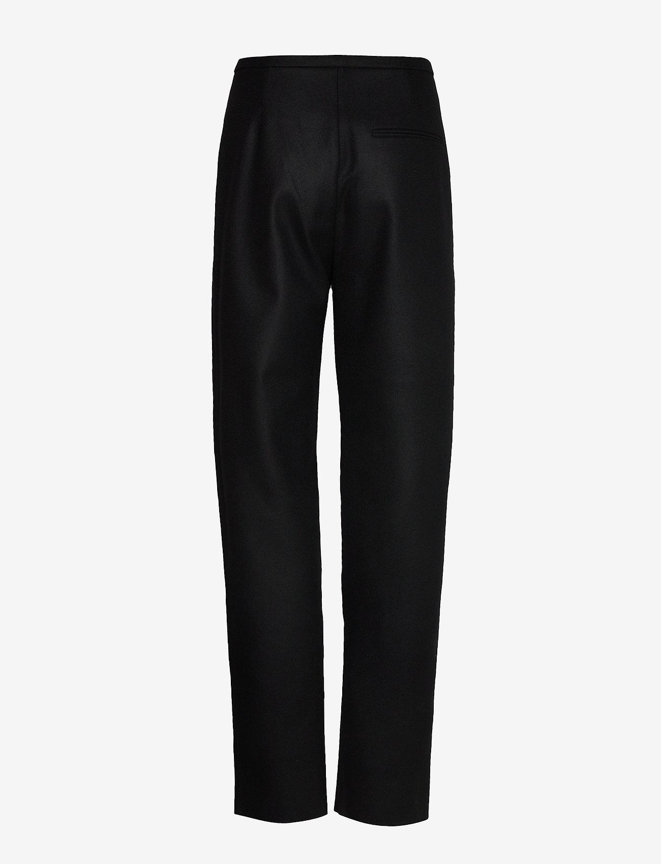 Totême - ALAIOR - bukser med lige ben - black 200 - 1