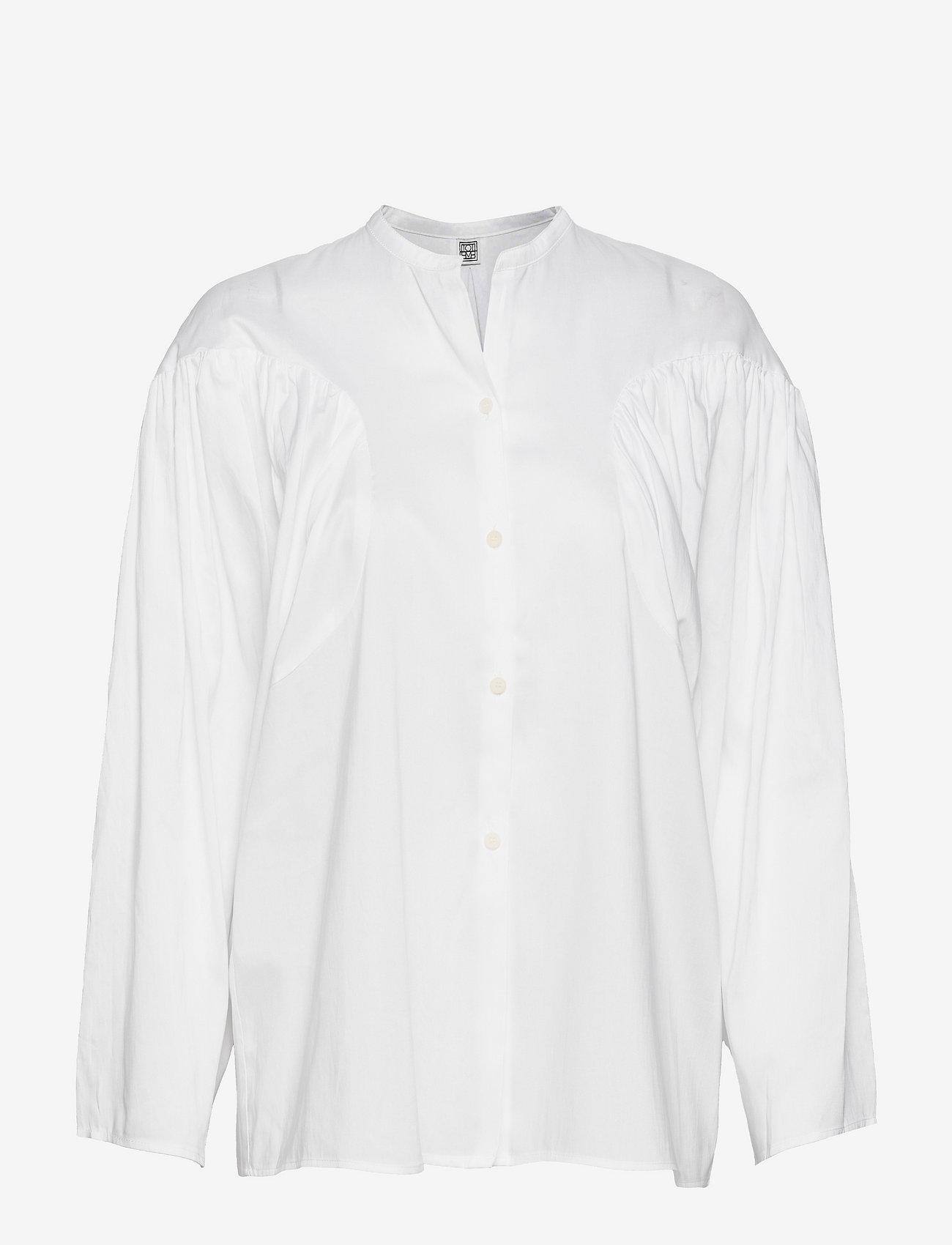 Totême - MONCTON - langærmede bluser - white 100 - 0