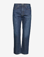 Totême - ORIGINAL DENIM - straight jeans - dark blue wash 480 - 0