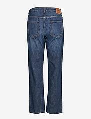 Totême - ORIGINAL DENIM - straight jeans - dark blue wash 480 - 1