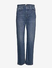 Totême - EASE DENIM - straight jeans - washed blue 405 - 0