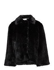 CHATEL FAUX FUR - BLACK