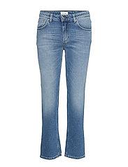 Straight Denim Slimmade Jeans Blå TOTÊME