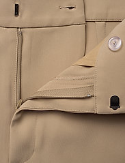Totême - NOVARA - straight leg trousers - khaki crepe 850 - 3