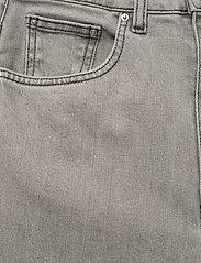 Totême - FLAIR DENIM - szerokie dżinsy - light grey wash 301 - 2