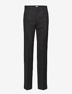 TROIA - rette bukser - black