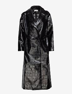 MIRA - trenchcoats - black