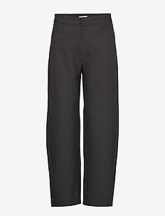 NOVARA - leveälahkeiset housut - black 200
