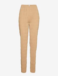 VIESTE - slim fit spodnie - camel