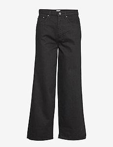FLAIR DENIM - szerokie dżinsy - black rinse 290