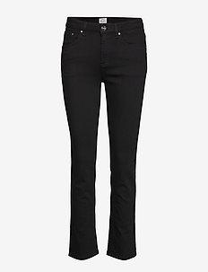 STRAIGHT DENIM - slim jeans - stay black 200