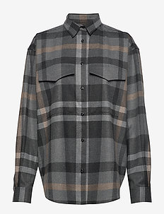 NOVELLA FLANELL - GREY CHECK 349