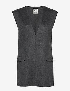 ALCOBA - veste - dark grey melange 251