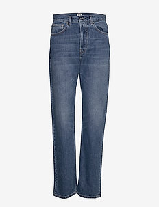EASE DENIM - straight jeans - washed blue 405