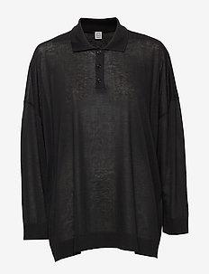 BARZIO - poloshirts - black 200