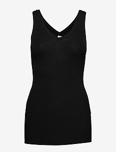 NICE - sleeveless tops - black 200