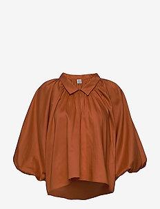 KERALA - långärmade blusar - orange 590