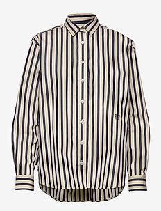 CAPRI - overhemden met lange mouwen - navy stripe 496