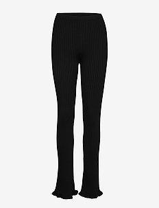 RY - slim fit bukser - black 200