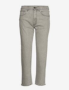 ORIGINAL DENIM - straight jeans - light grey wash 301