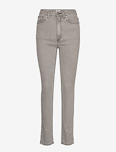 NEW STANDARD DENIM - slim jeans - light grey wash 301