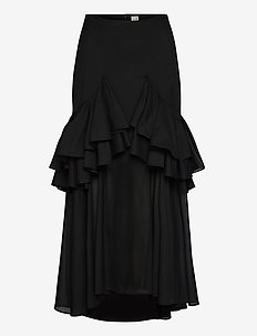 COJA - midinederdele - black 200