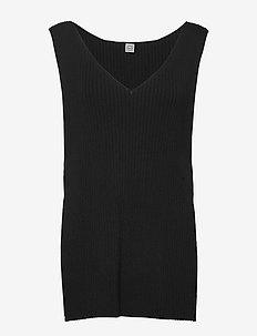 BOLZANO - knitted tops & t-shirts - black 200