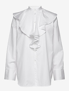 CABRERA - long-sleeved shirts - white 100