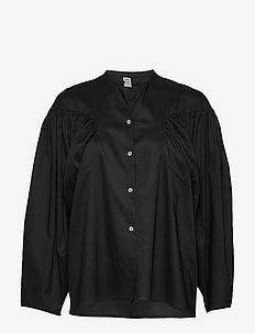MONCTON - long sleeved blouses - black 200