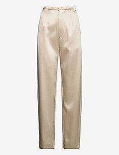 EVORA - rette bukser - ivory 160