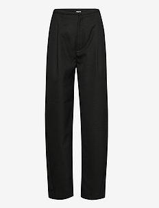 LUMIO - broeken med straight ben - black 200
