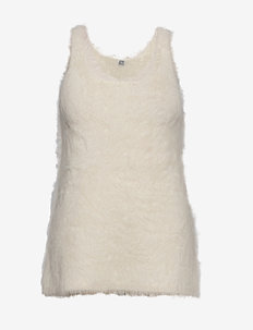 VENCE - gebreide t-shirts - ivory 160