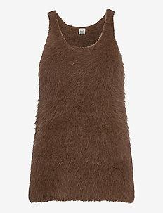 VENCE - getrickte tops & t-shirts - walnut 871