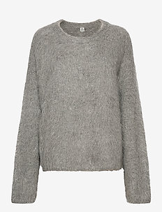 BIELLA - jumpers - grey melange 350