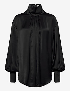 ARENAL - langærmede bluser - black 200